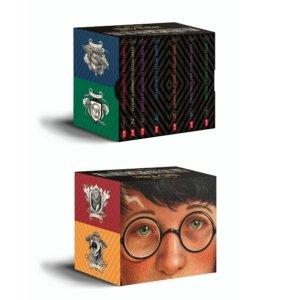 45(原价$100)史低价:Harry Potter 哈利波特小说套装1-7册,特别版
