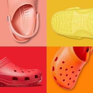 两双$45+包邮Crocs官网 精选舒适男女鞋履大促