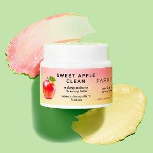 全线6.7折 苹果味卸妆$42收补货:Farmacy 卸妆膏 强效卸妆不拔干 媲美 Eve Lom