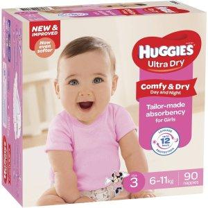 Huggies纸尿裤90包装
