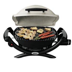 $271(原价$339)小型超便携限今天:Weber 家用烧烤炉 带烧烤架 在家也能吃烧烤