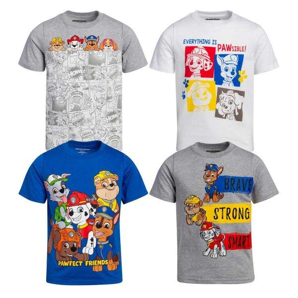 小童T恤4件套