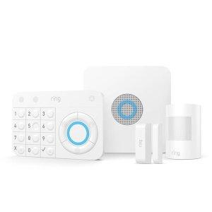 $159(原价$269)史低价:Ring Alarm 家庭安防套装 多一份保障 多一份安心