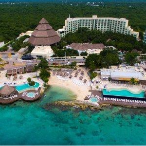 $499起4晚墨西哥科苏梅尔岛全包度假套餐 含机票+全包度假村