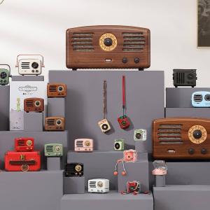 低至8.5折MUZEN 猫王蓝牙音箱、复古收音机,收新品野性mini