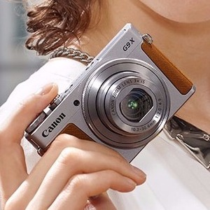 Canon PowerShot G9 X Silver Camera