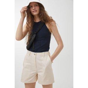 arket米色短裤
