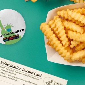 下单汉堡或三明治就送薯条Shake Shack 提供疫苗证明领取奖励限时活动 全国店铺参加