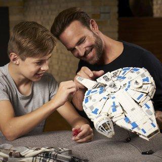 $119.9 4月新款降价LEGO 星战神速千年隼 75212套装,1414片