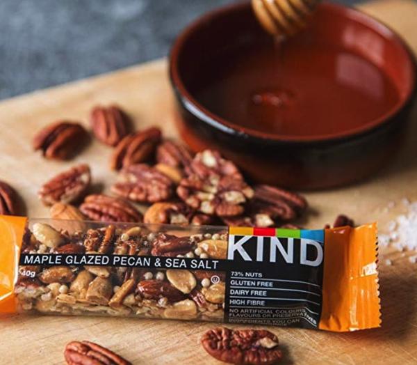 KIND 枫糖浆海盐味坚果能量棒 火热促销