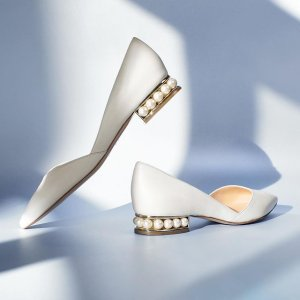 低至5折  收封面同款Nicholas Kirkwood 小仙女必备珍珠鞋 $350收经典尖头鞋