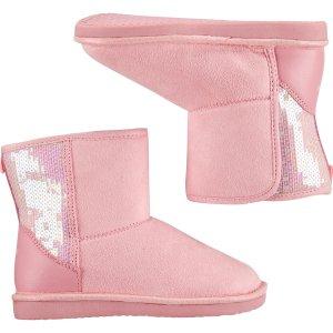5折+额外7.5折 新款雪地靴$$17.25折扣升级:OshKosh BGosh  新款童鞋价再降 有0-16岁儿童码