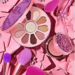 75折+额外9折Tarte Cosmetics 彩妆护肤品促销 入限量眼影盘