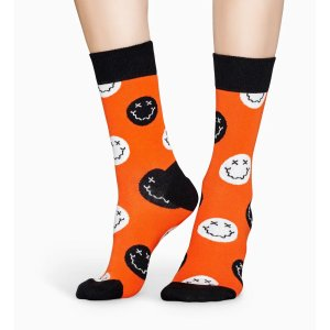 Happy Socks万圣节鬼脸袜