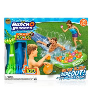 Bunch O Balloons Water Slide Wipeout (1x Lane) by ZURU