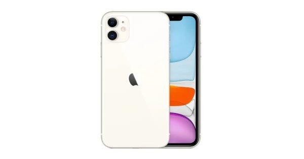iPhone 11 (128GB, White)   iPhones  