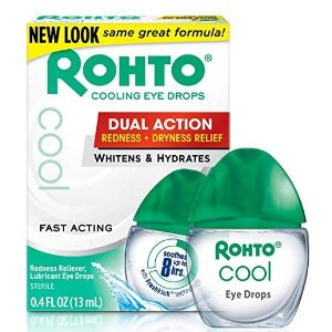 $11.4Rohto Cool The Original Cooling Redness Relief Eye Drops, 0.4 Ounce, 3 Count