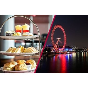 Buyagift码:23DEALMBAG伦敦眼+豪华下午茶 双人票
