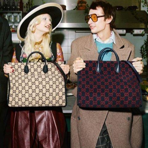 3折起+下单即减£15 酒神£520 Marmont£568独家:Gucci 二手性价比之王 收酒神包、Marmont包、小白鞋、双G腰带