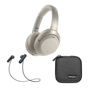 $278 降噪豆1代套装$298独家:Sony WH-1000XM3 无线降噪耳机+蓝牙音箱或运动耳机套装