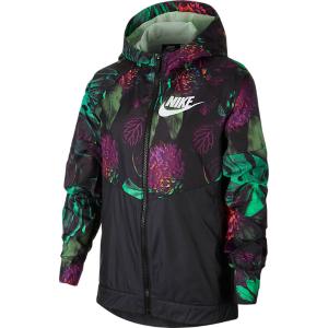 Kids' Nike Sportswear Floral Windrunner Full-zip Jacket
