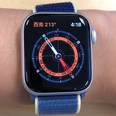 超节能常亮屏的4代 + 指南针 = 5代Apple Watch Series 5 首发开箱简测,新增户外实用指南针