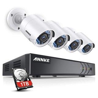 最高享7.5折 8路4摄低至$142限今天:ANNKE 安防监控系统 一日促销