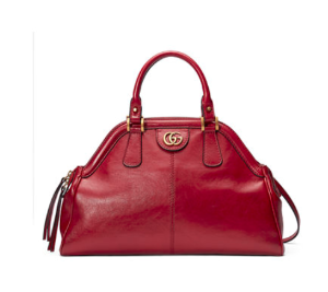 Gucci RE(BELLE) Medium Leather Top Handle Bag | Neiman Marcus