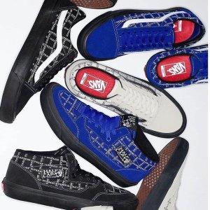 9月10日发售 实物图抢先看Supreme x Vans 联名 确认明日限量发售新鞋 三色可选