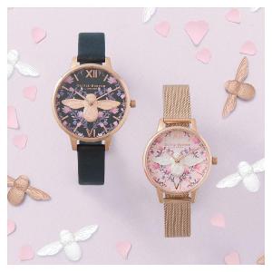 线上7折+额外85折+税补Olivia Burton 英国小众清新手表热卖,1支免邮到手¥400