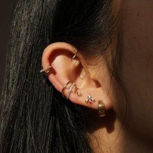 无门槛8.5折 大波上新Astrid & Miyu 耳骨夹全场大促 不用打耳洞也能美