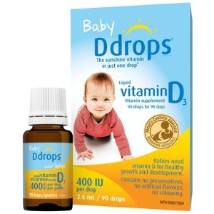 Ddrops宝宝液体维D补充