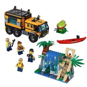 低至$14.98 全地形车赛车队和丛林移动实验室降价最热销美亚LEGO 乐高City 城市系列 早教玩具热卖