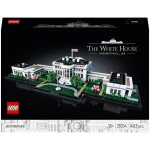 $149.99  1483pcsLEGO官网 Architecture 白宫2020年新版上新 21054