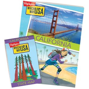HighlightsGeography Books for Kids with USA Puzzles | Which Way USA