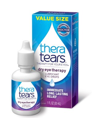 $9.94TheraTears Eye Drops for Dry Eyes, Extra Dry Eye Therapy Lubricant Eyedrops, 0.5 Fl oz, 15 mL