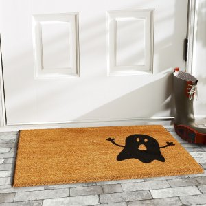 HouzzNatural/Black Ghost Doormat - Contemporary - Doormats - by Home & More