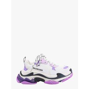 BalenciagaTRIPLE S 葡萄紫老爹鞋