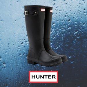 6折起 迷雾紫低筒雨靴€57Hunter直降 英国皇室御用品牌 收超经典雨靴、雨具 雨季不愁