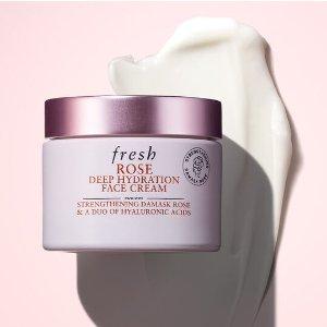 Fresh15% off $125Rose Deep Hydration Moisturizer