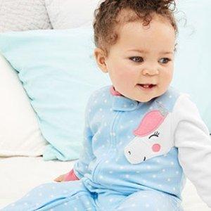 Carter's官网 儿童睡衣/家居服3折起热卖
