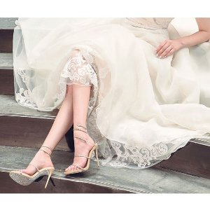 满额享5折 入经典蛇形凉鞋Rene Caovilla 此生必备的最美仙女鞋