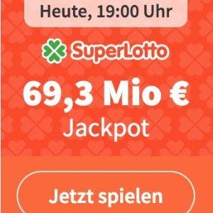今晚开奖!新用户免费玩超级乐透SuperLotto 大奖6930万欧!猜对1个数字就中奖