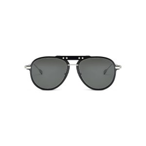 Bridge Pilot Black Smoke Polarized Sunglasses | RIMOWA