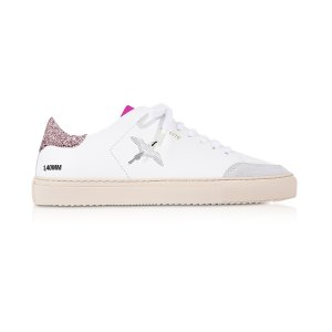 Axel ArigatoClean 90 Triple Bird White, Pink Glitter & Fuchsia Leather Women's Sneakers