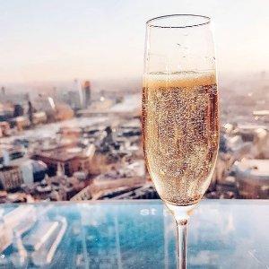城市观景台配香槟Vertigo 双人香槟下午茶 俯瞰伦敦金融城 泰晤士河 大本钟