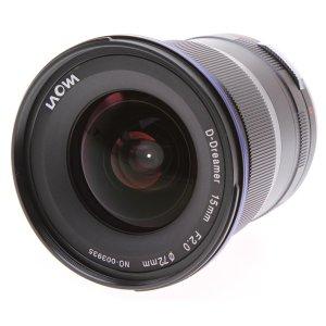 $699 几乎0畸变Laowa 15mm f/2 FE Zero-D Sony E 超广角镜头