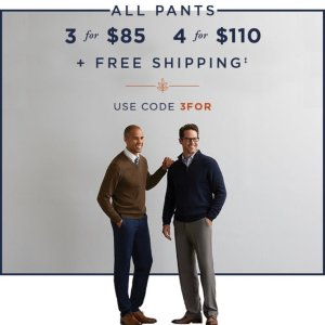 3 For $85+Free ShippingHaggar Pants Sale