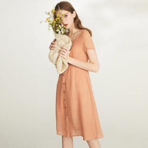 2.3折起超值价乐町甜美女装限时大促专场 收夏季衬衫、连衣裙等