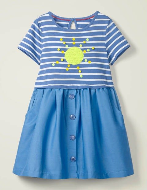 儿童变色闪片连衣裙
